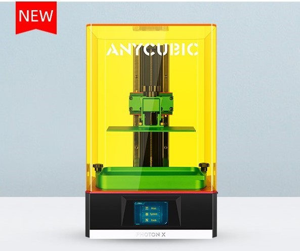 The Photon X is a large-format LCD printer with Wi-Fi capabilities. Photo via Anycubic.