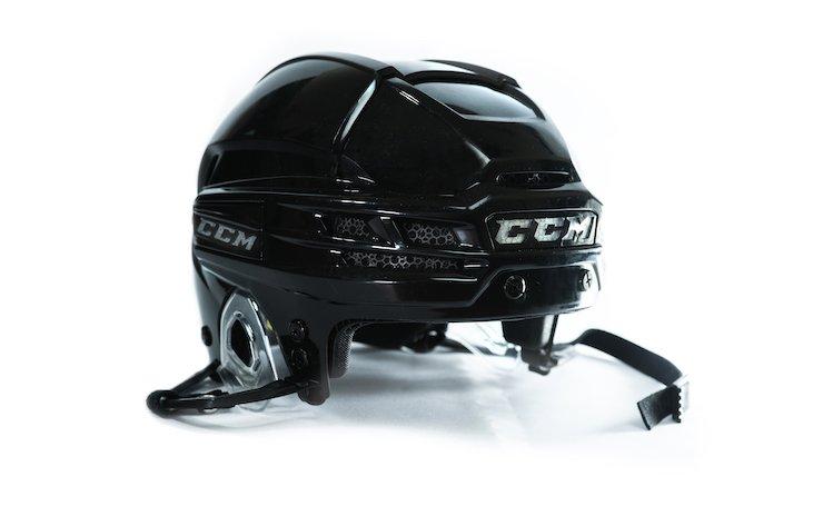 The Super Tacks X helmet. Photo via CCM Hockey.