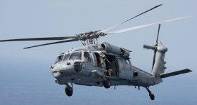 The U.S. Navy's MH-60S Seahawk helicopter. Photo via US Navy.