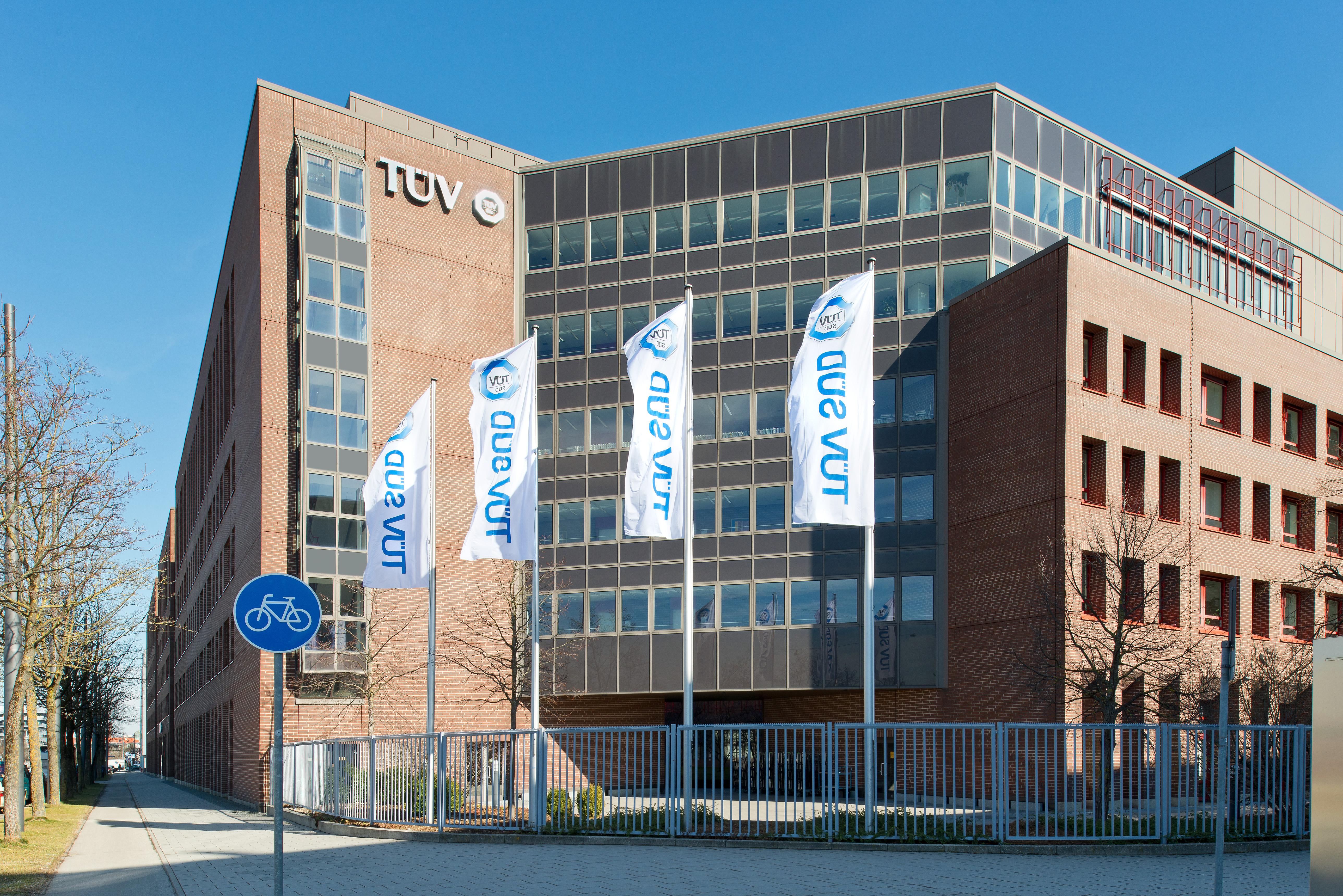 Headquarter of TÜV SÜD in Munich, Germany. Image via TÜV SÜD.