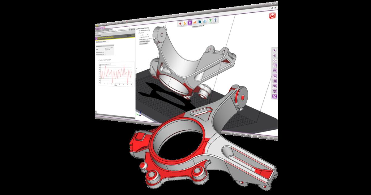The 4D_Additive UI. Image via CoreTechnologie.