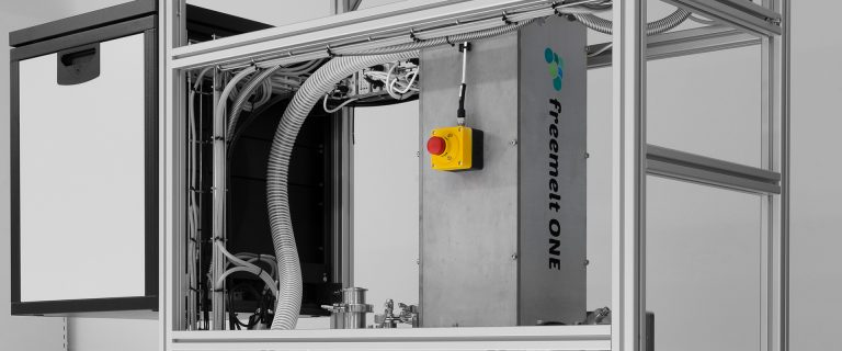 The Freemelt One E-PBF 3D printer. Image via Freemelt.