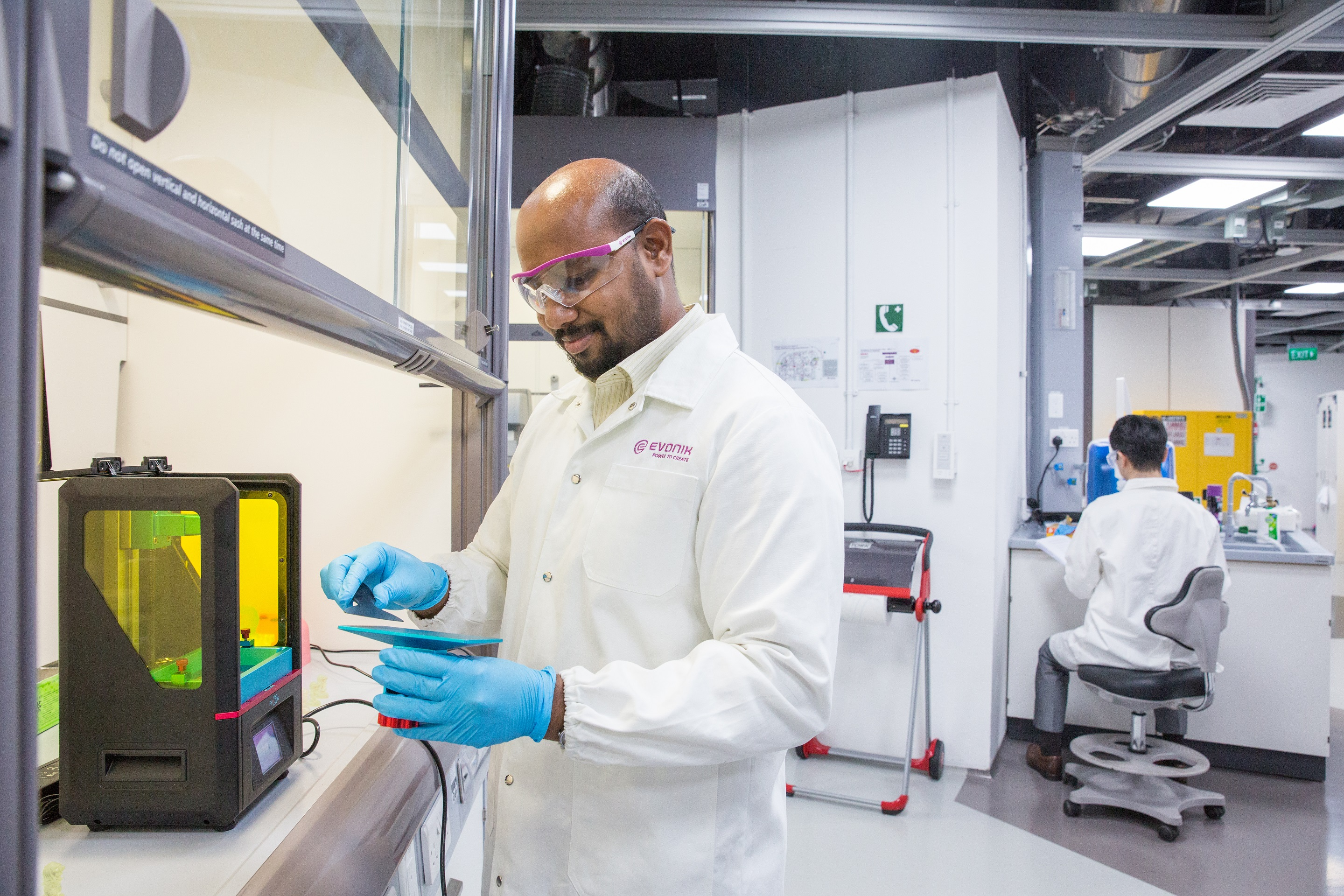 Evonik's new INFANIM range will include all of its 3D printing materials except for its medically-certified biomaterials. Photo via Evonik.