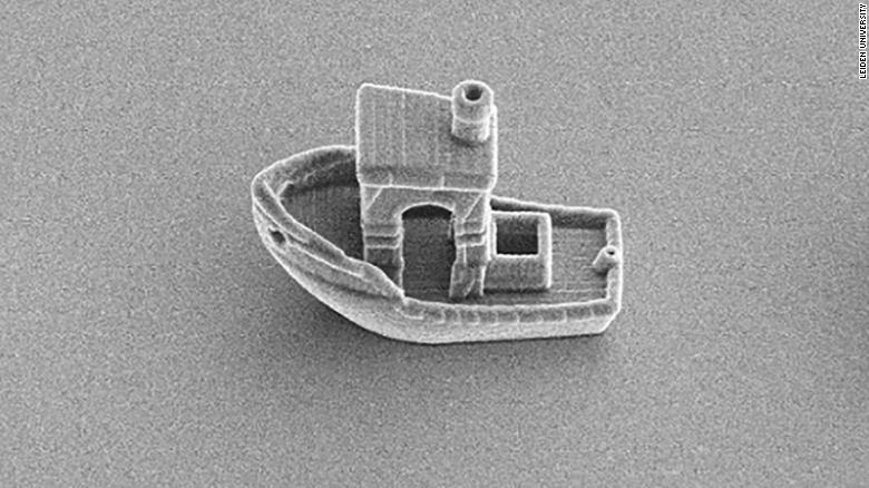 A team of physicists from Leiden University used 3D printing to produce complex microswimmers and other structures at the micron scale. Photo via Leiden University.