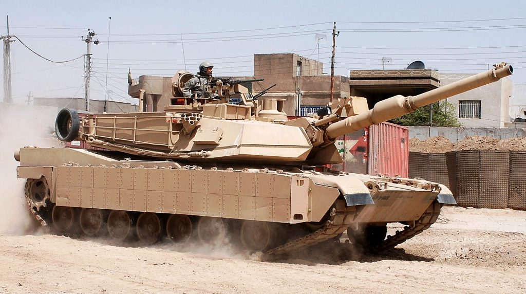 An M1 Abrams tank under TACOM. Photo via US Army.