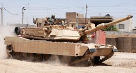 An M1 Abrams tank under TACOM. Photo via US Army.