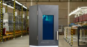 Meltio's M450 small-footprint industrial metal 3D printer. Image via Meltio.