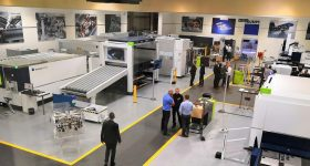 TRUMPF's revenue has decreased eight percent over the last year. Photo via TRUMPF.