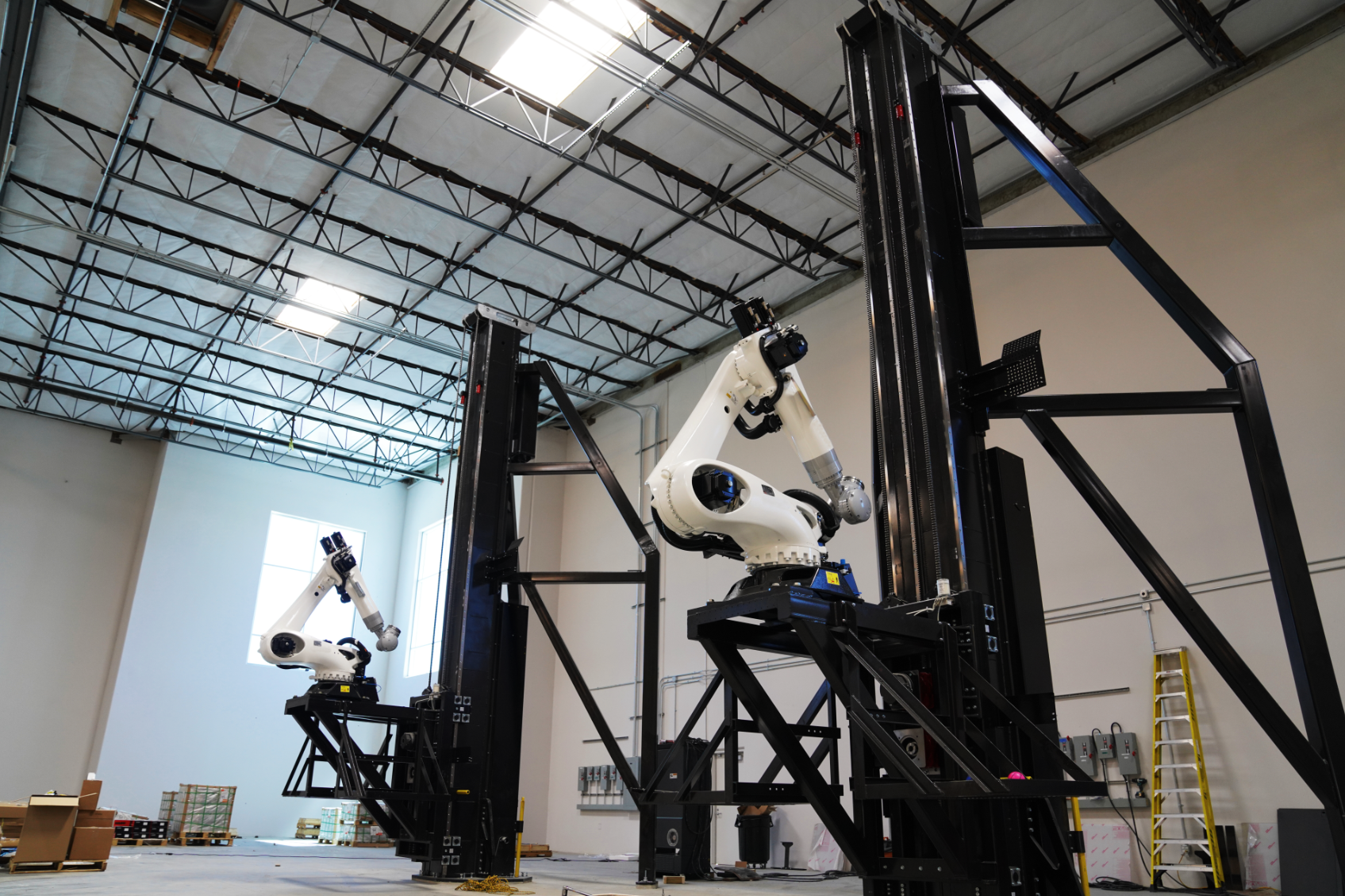 Relativity Space has made considerable progress towards the development of a fully-3D printed rocket in recent years. Photo via Relativity Space.