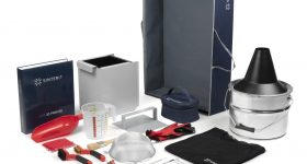 Featured image shows Sinterit's new range of dedicated powder management tools. Photo via Sinterit.