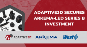 Adaptive3D has obtained Series B financing from a syndicate led by French advanced materials company Arkema Group. Image via Adaptive3D.
