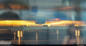 The tailored additive manufactured solution reduces the likelihood of an AOG for this specific aircraft. Image via Airbus.