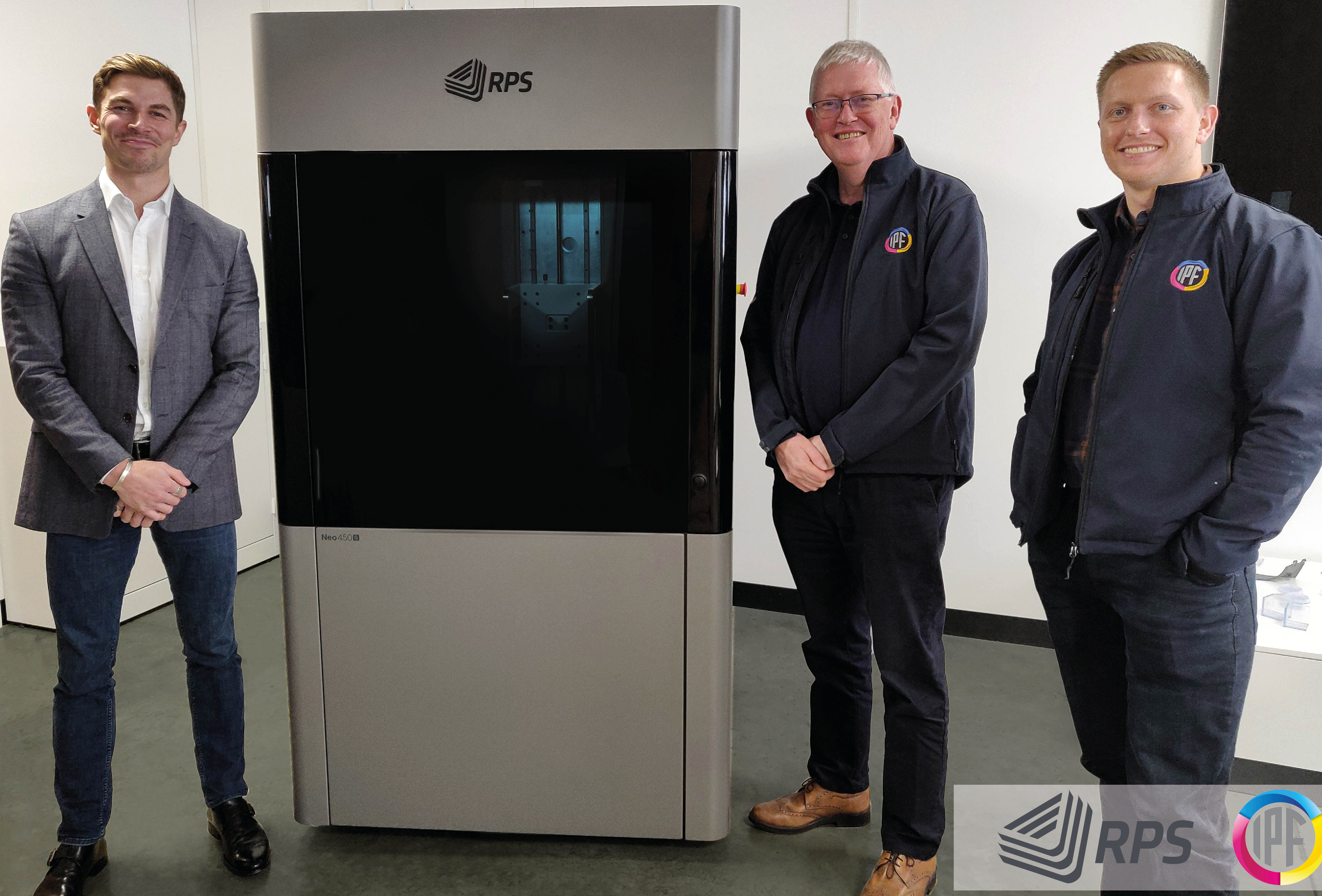IPF is planning to use its newly-installed RPS System (pictured) to meet client demand within its combined design and prototyping business. Photo via RPS.