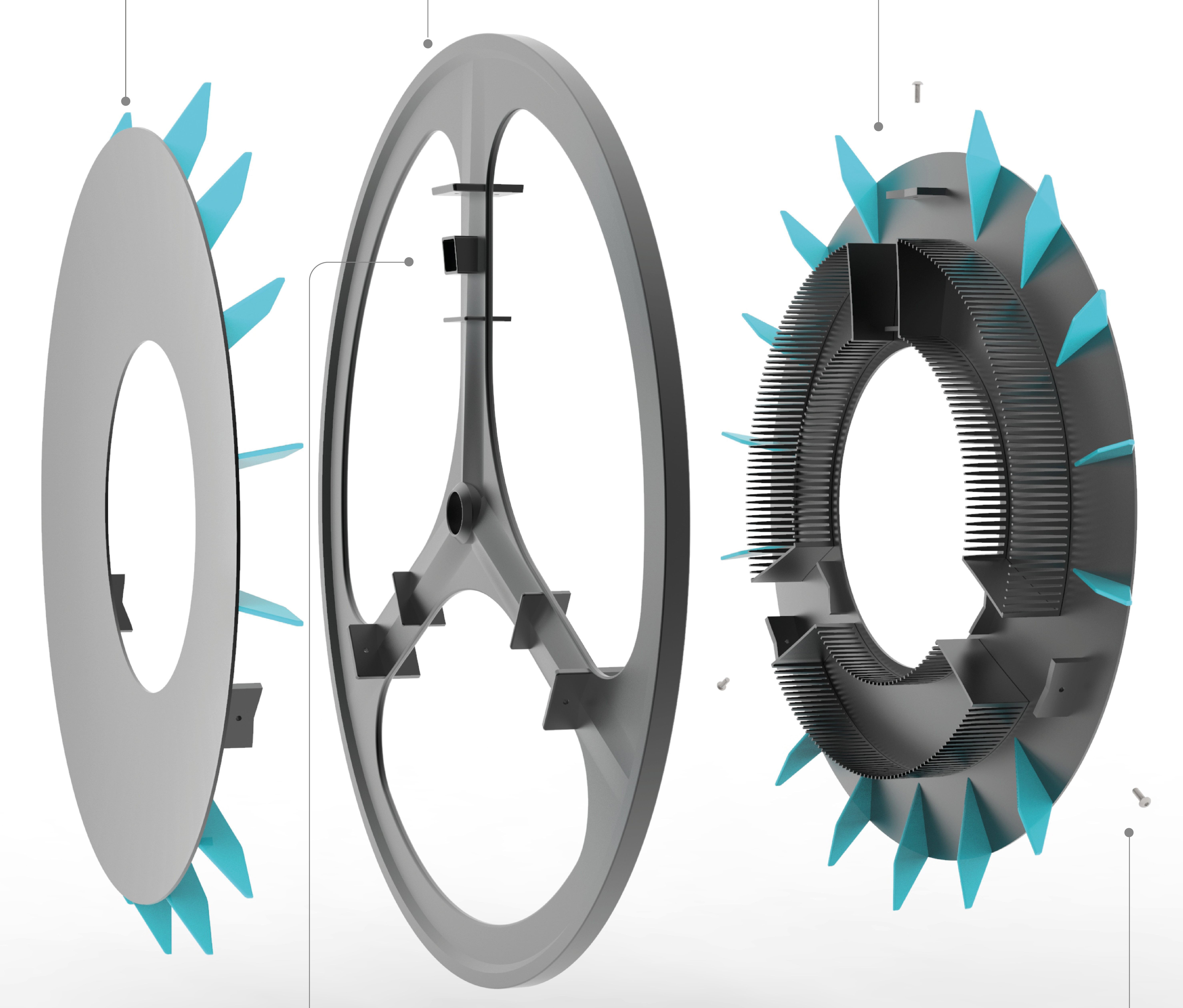 London designer uses 3D printing to produce air-filtering bicycle wheel