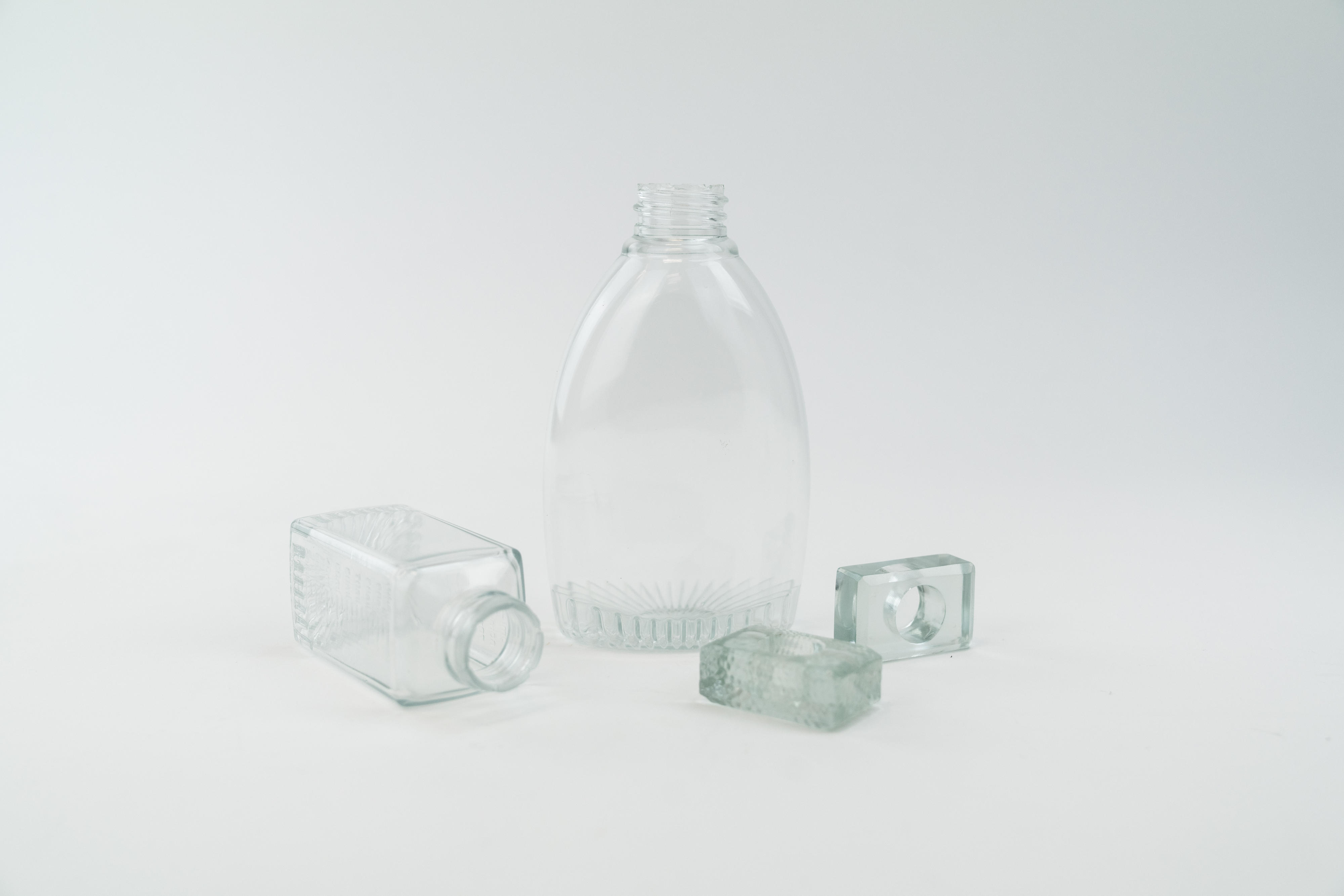 Loctite 3D IND405 Clear parts printed with the Carbon DLS process (post-processed parts courtesy of ProtoCAM). Image via Henkel.