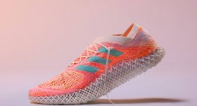 Featured image shows concept art of Adidas' STRUNG 3D printed trainer. Image via Adidas.