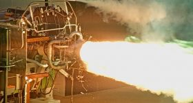 Firefly engine test. Image via Firefly Aerospace.