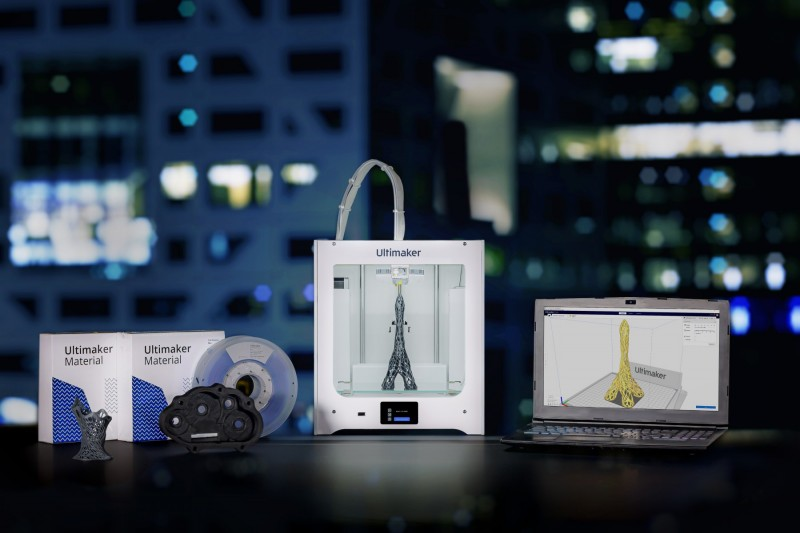The Ultimaker 2+ Connect is designed for use in general access 3D printing labs. Image via Ultimaker.