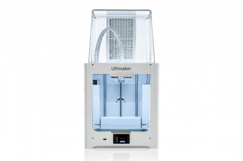 The Ultimaker 2+ Connect with the Connect Air Manager. Image via Ultimaker.