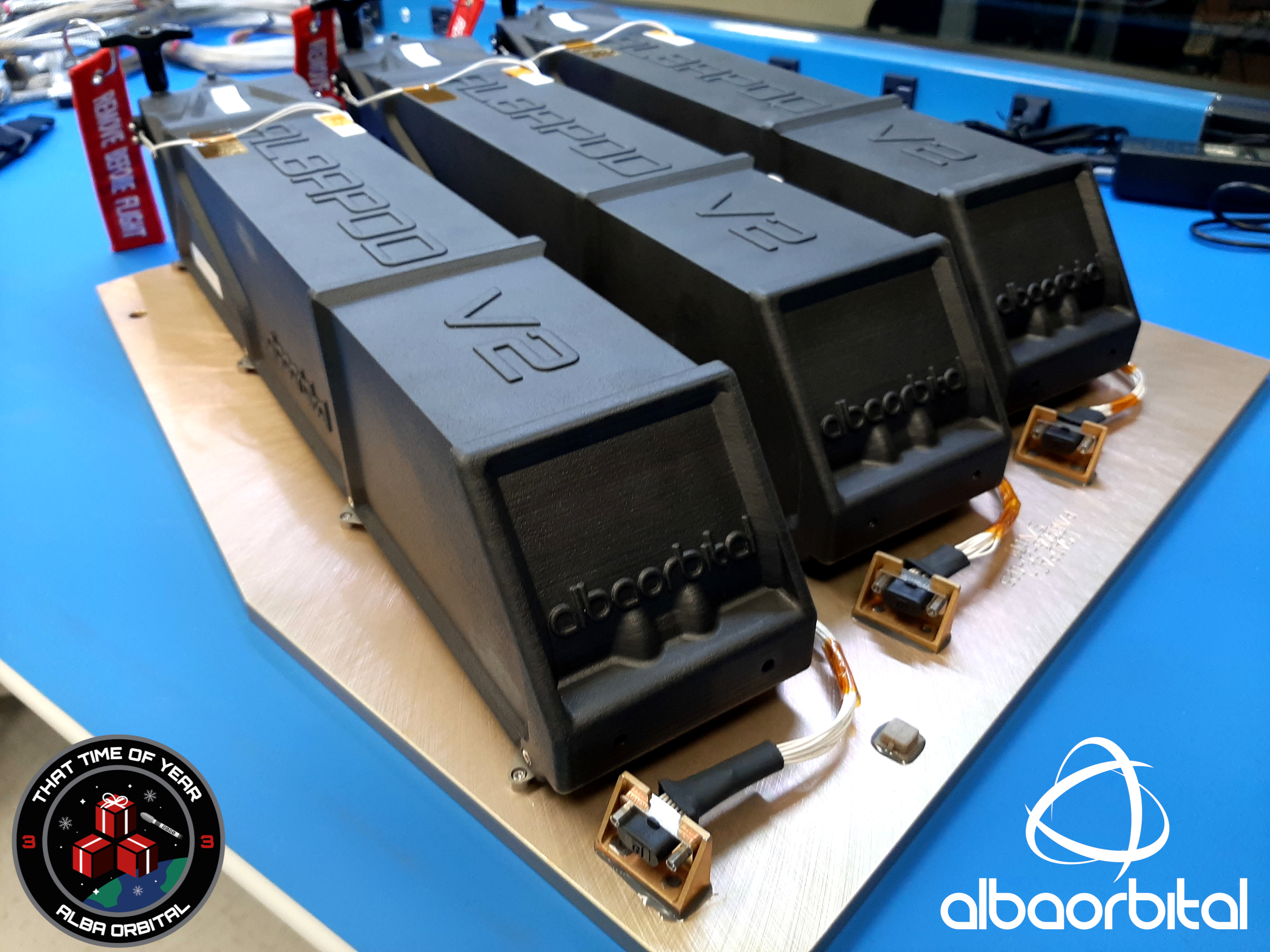Alba Orbital will take its customers PocketQubes to orbit on the SpaceX Falcon 9 launch vehicle. Image via CRP Technology.