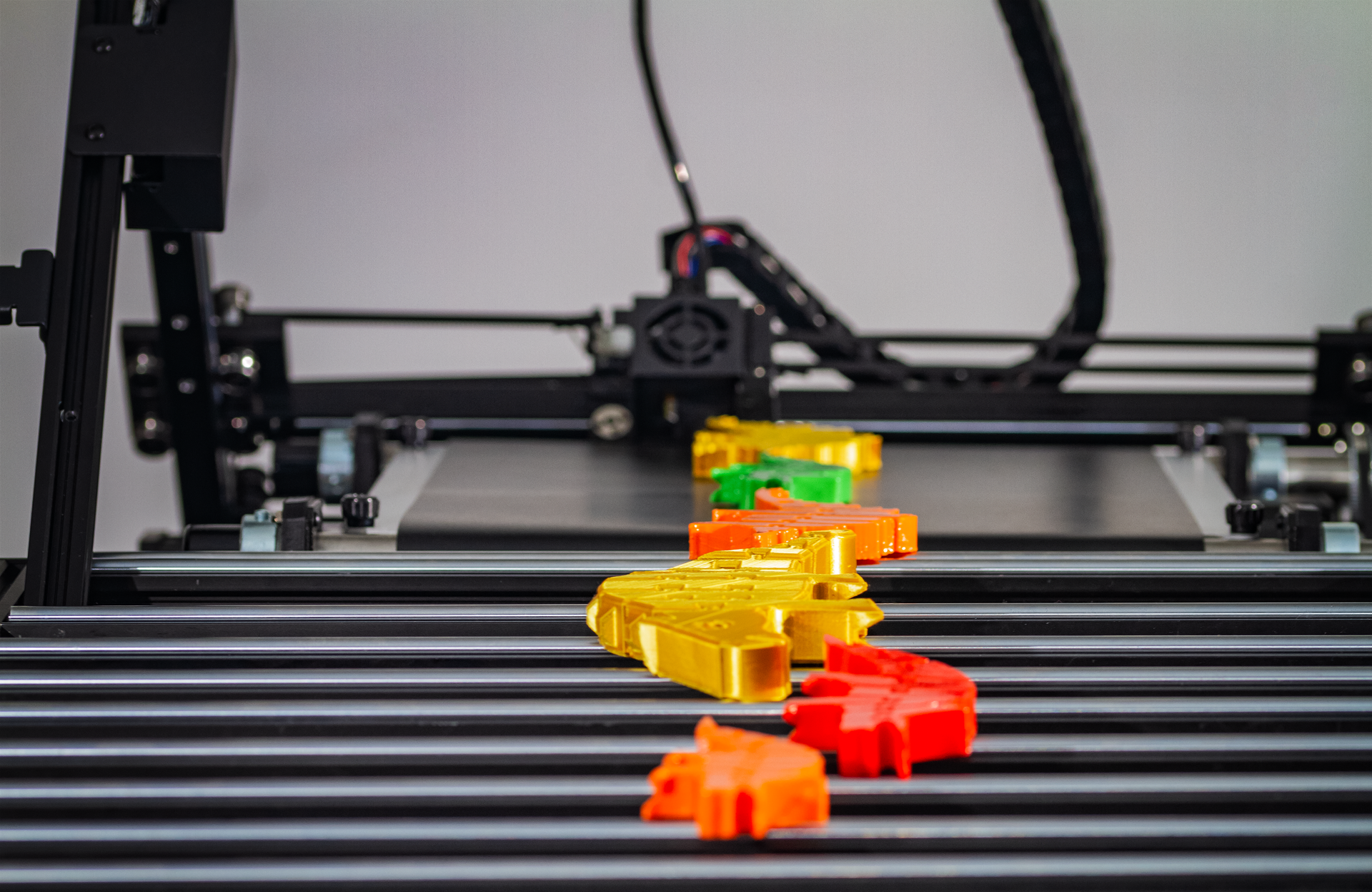 Continuous 3D printing on the iFactory One. Photo via iFactory3D.