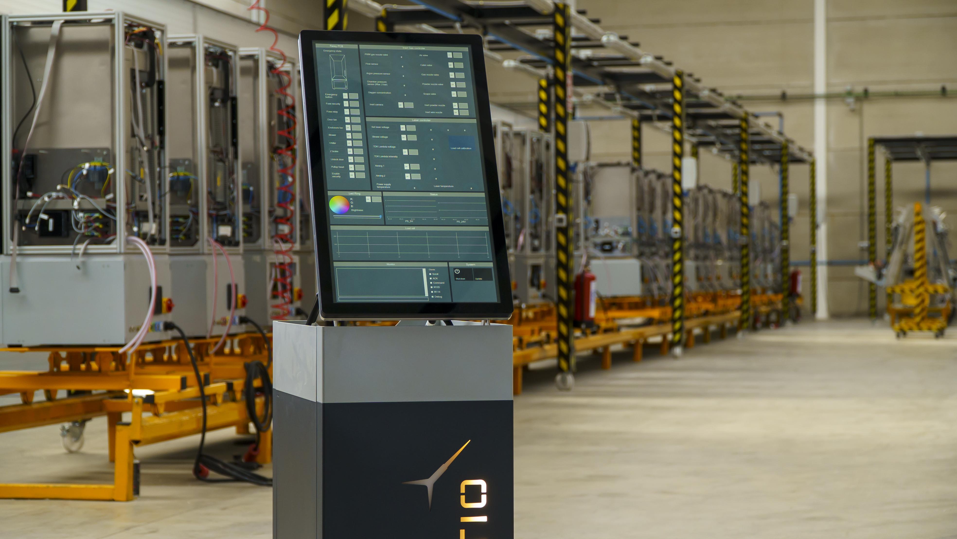 The Meltio Engine 3D printing module. Photo via Meltio.