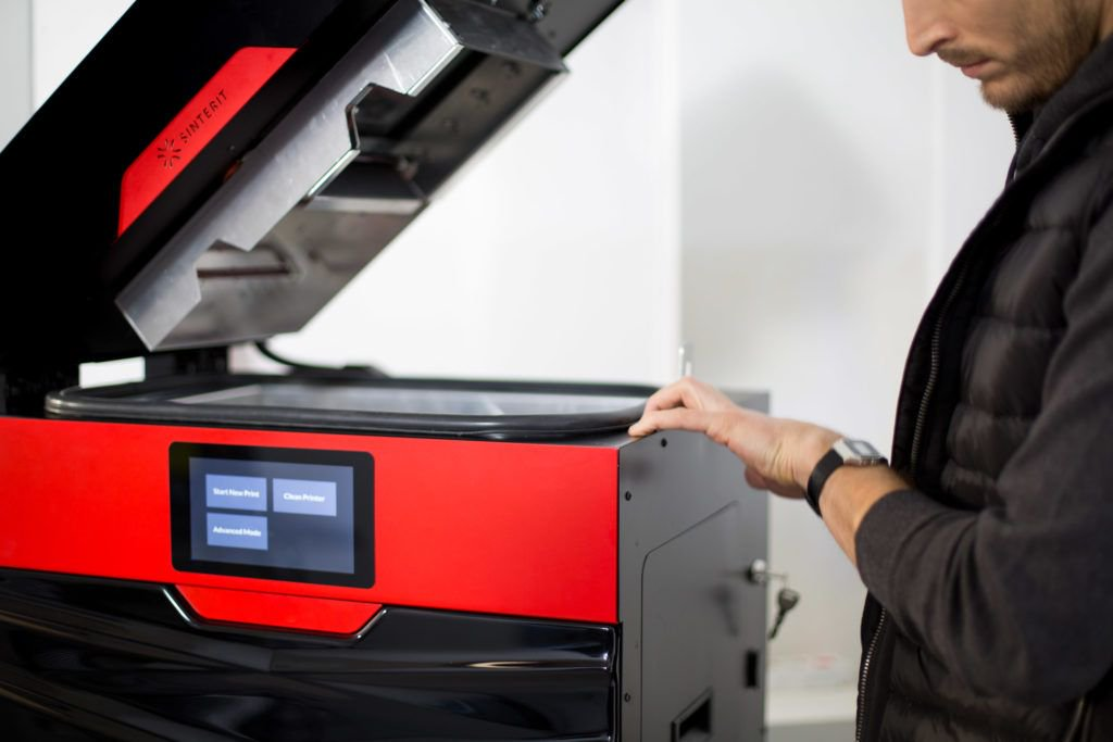 Sinterit announced last year that it had sold its landmark 1,000th machine. Photo via Sinterit.
