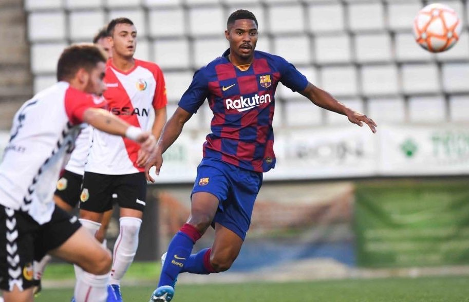 Barcelona has agreed to test the project's upcoming hydrogel on its academy players and retired pros. Photo via Barcelona B.