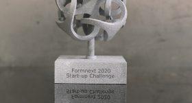 AM Ventures Impact Award and Formnext Start-up Challenge Award Winner