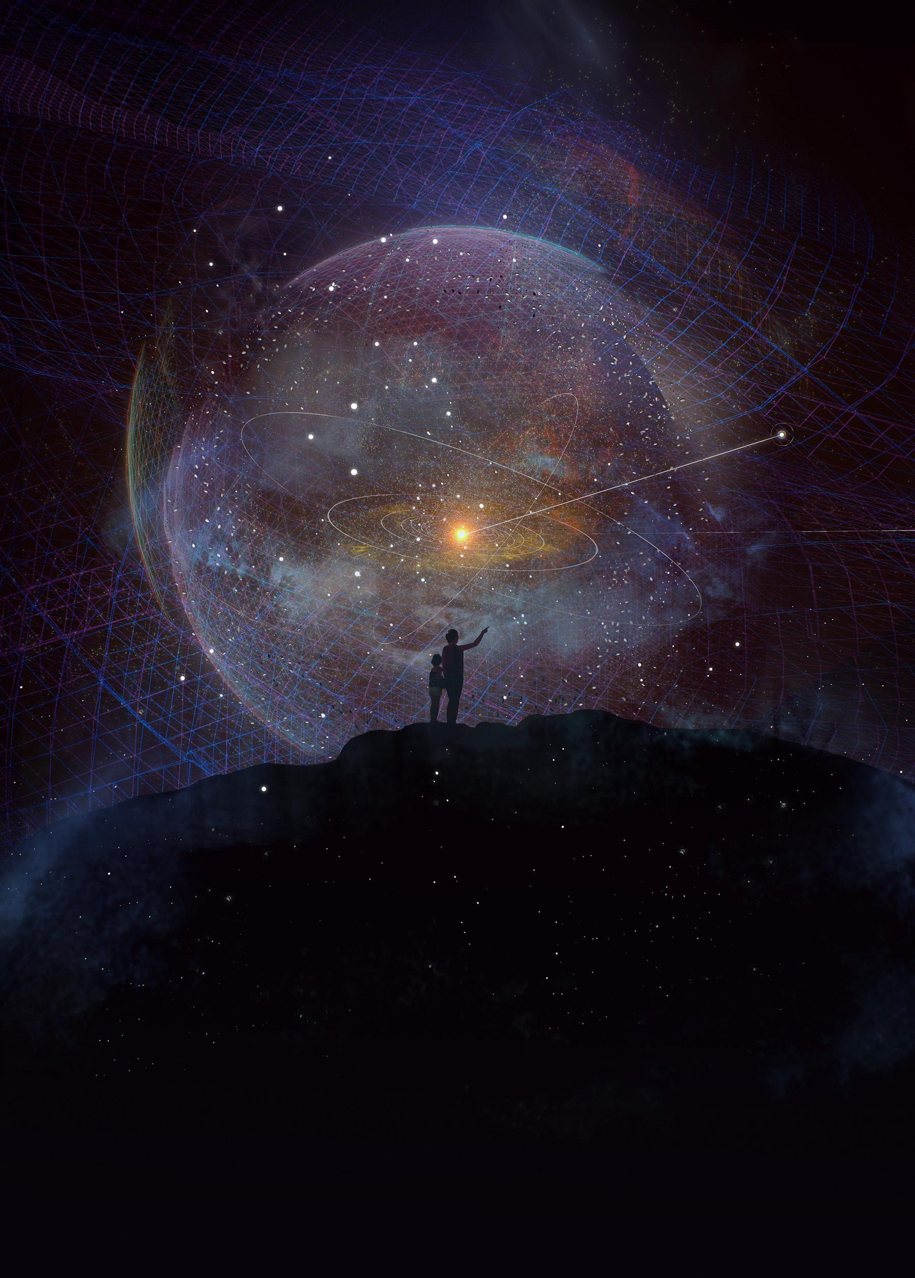 Interstellar Probe Graphic. Image via Johns Hopkins APL.