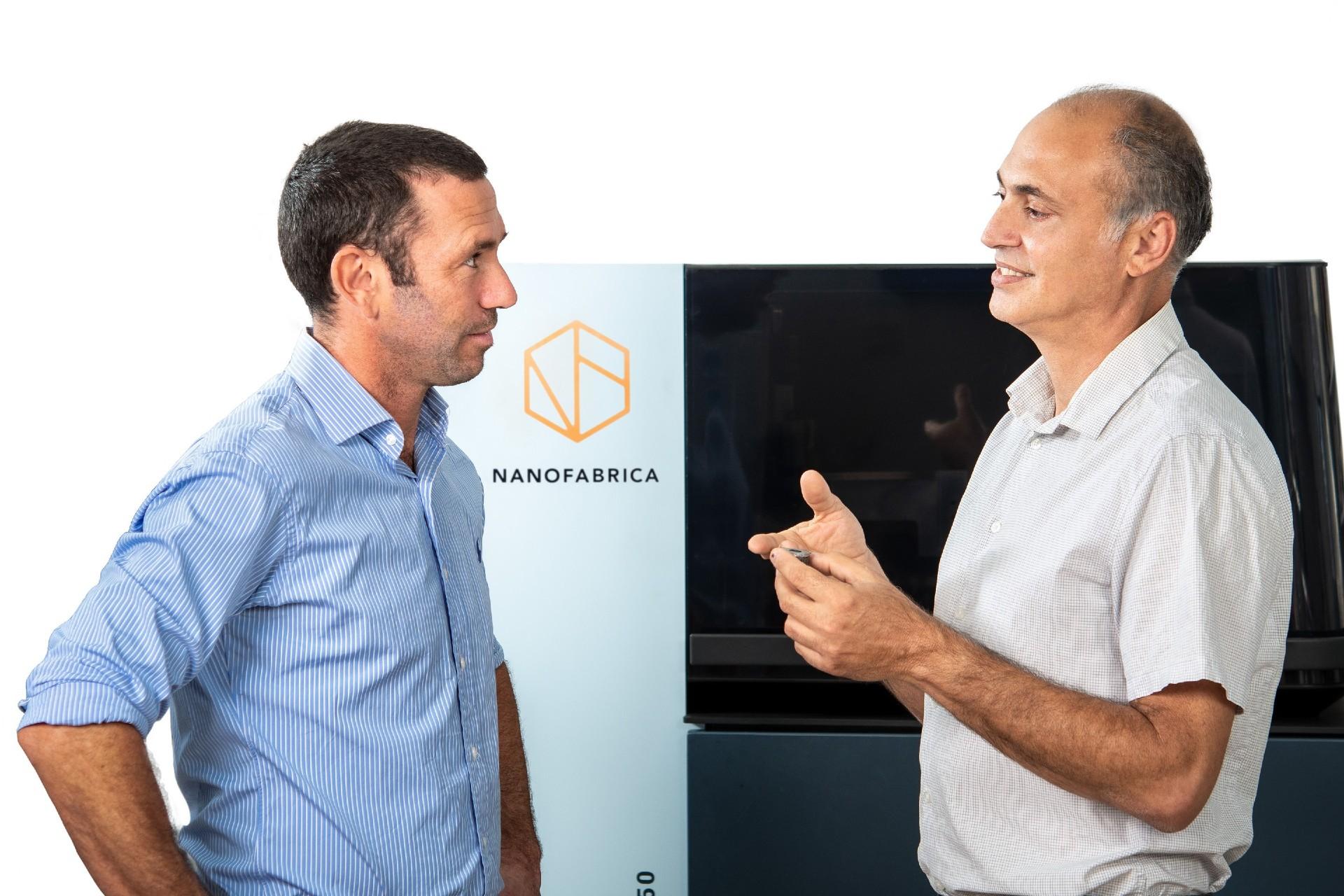 Jon Donner (left) has hailed the importance of hiring Avi Cohen (right) for Nanofabrica's future strategy. Photo via Nanofabrica.