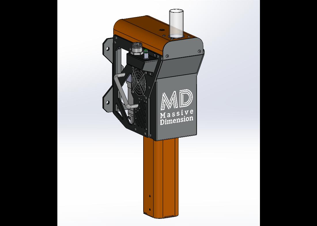 The MDPE10 extruder. Image via Massive Dimension.