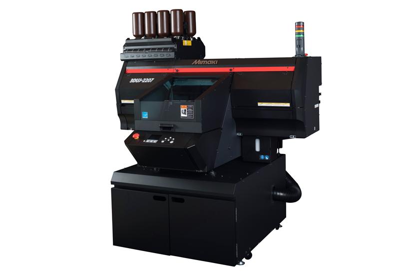 The new Mimaki 3DUJ-2207 UV-LED full color 3D printer. Image via Mimaki.