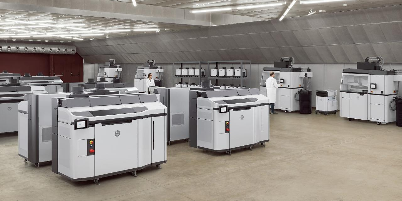 HP's Jet Fusion 5210 is designed for high volume production. Image via Weerg.