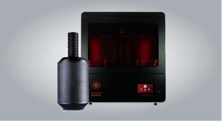 """Ultracur3D EPD1006 Powered by Photocentric"" is the first in a new portfolio of 3D printing resins developed in partnership with Forward AM. Photo via Photocentric."