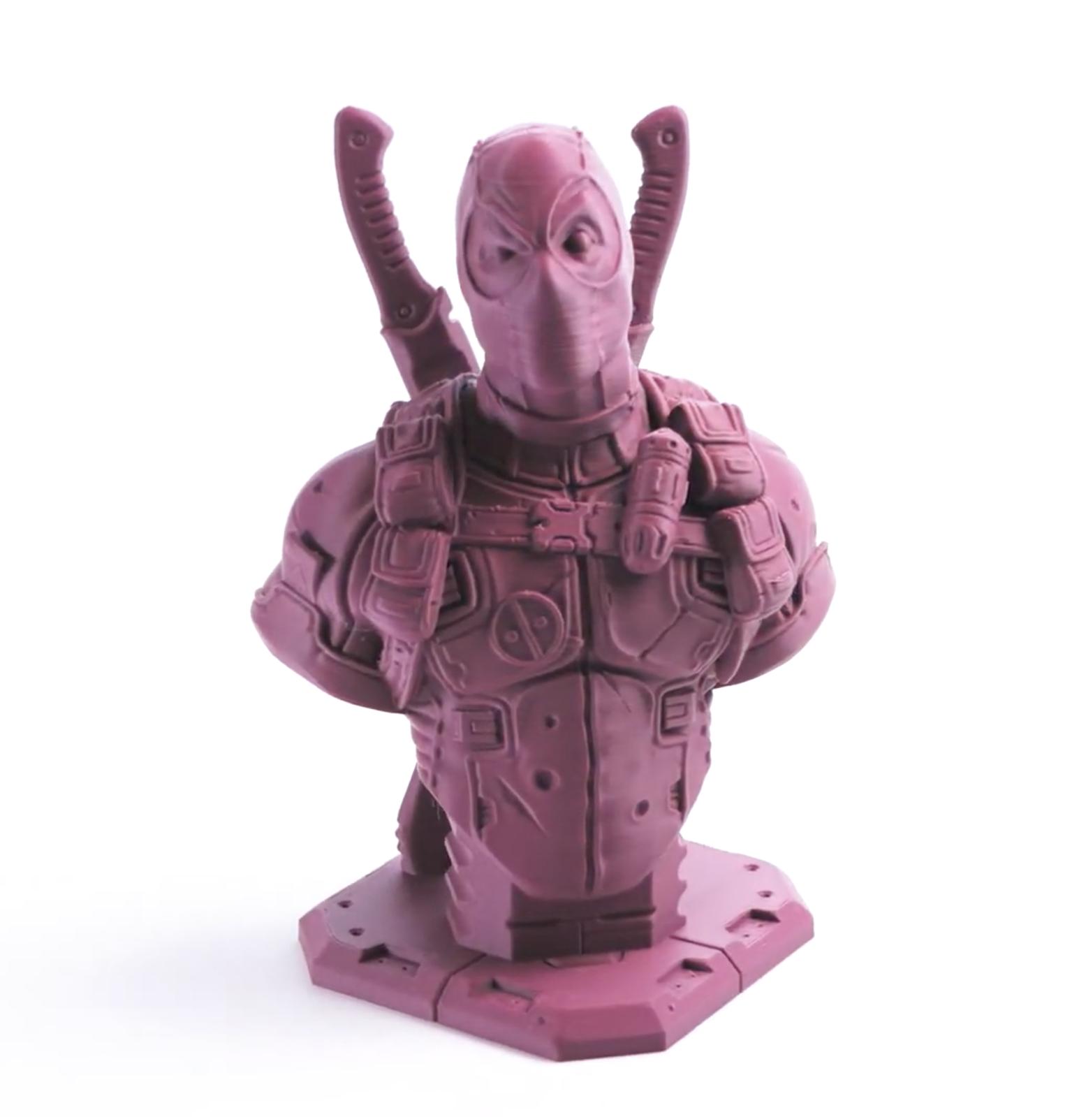 A print made from Filamentive's PLA Matte filament. Image via Filamentive.
