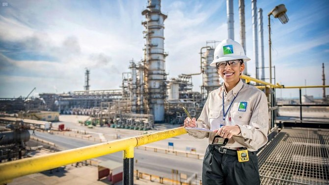 Saudi Aramco, officially the Saudi Arabian Oil Company, is one of the largest corporations in the world by revenue. Photo via Aramco.