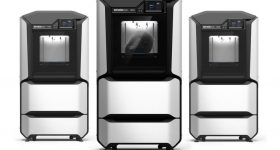 Stratasys' F123 series of FDM 3D printers. Photo via Stratasys.