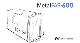 Additive Industries will officially present the MetalFAB-600 towards the end of 2021. Image via Additive Industries.
