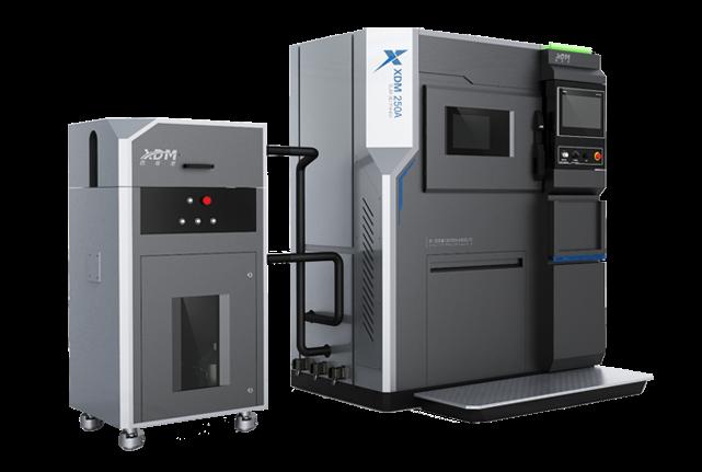 XDM specializes in metal SLM 3D printers such as this XDM 250. Photo via XDM.