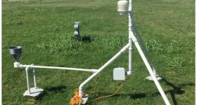 3D printed weather station. Photo via Argonne National Lab.