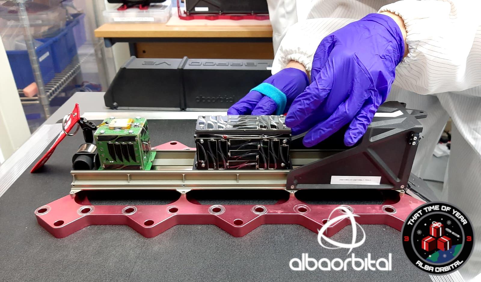 Alba Orbitalhas successfully integrated nine PocketQube satellites into its AlbaPod v2 deployer. Image via CRP Technology.