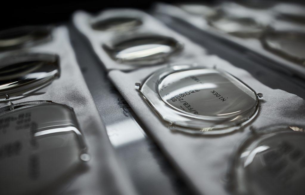 Luxexcel has now 3D printed over 50,000 prescription lenses using its proprietary VisionPlatform process. Photo via Luxexcel.