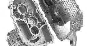 3D printed E-drive housing for Porsche. Image via SLM Solutions.