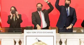 Featured image shows Desktop Metal CEO Ric Fulop ringing the opening bell on the NYSE. Photo via Desktop Metal.