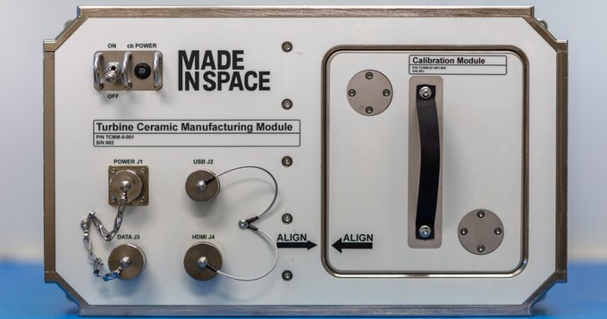 Made in Space's Ceramic Manufacturing Module. Photo via Made in Space.