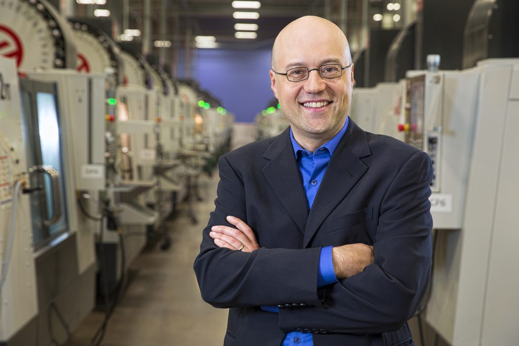 Robert Bodor will succeed Vicki Holt as President and CEO of Protolabs, effective March 1, 2021. Image via Protolabs.