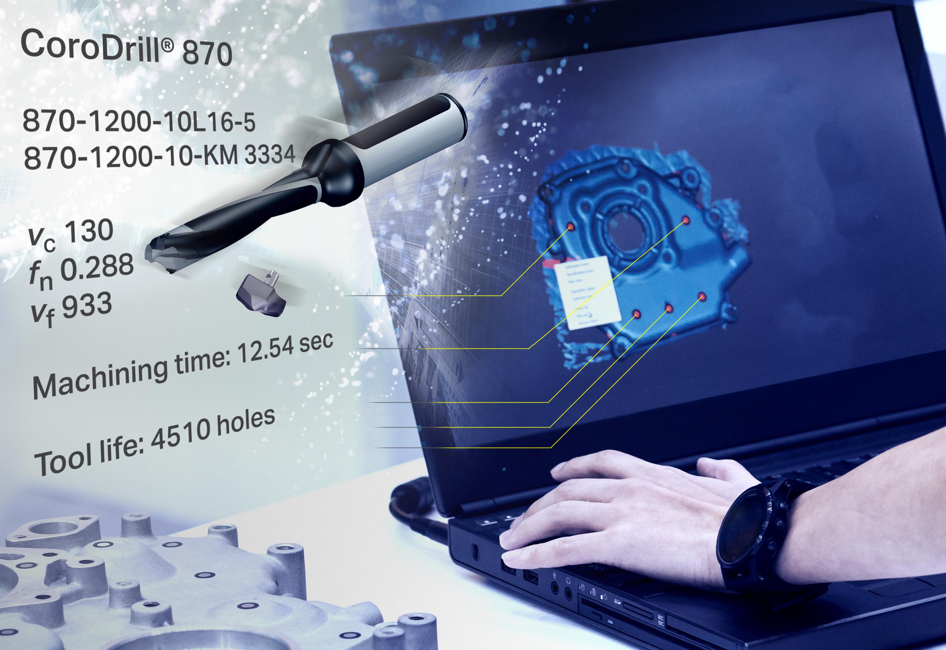Sandvik Coromant has partnered with Autodesk to optimize the developer's Fusion 360 software package for 3D printing tools. Image via Sandvik Coromant.