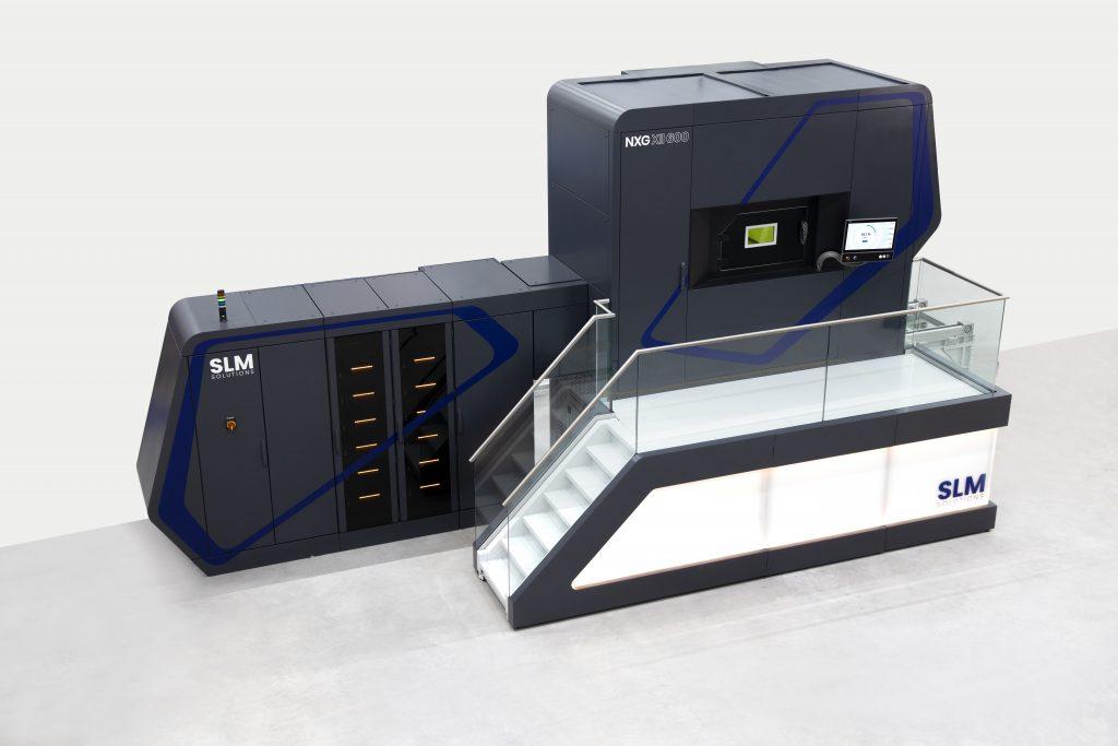 SLM Solutions' NXG X11 600 3D printing system. Image via SLM Solutions.