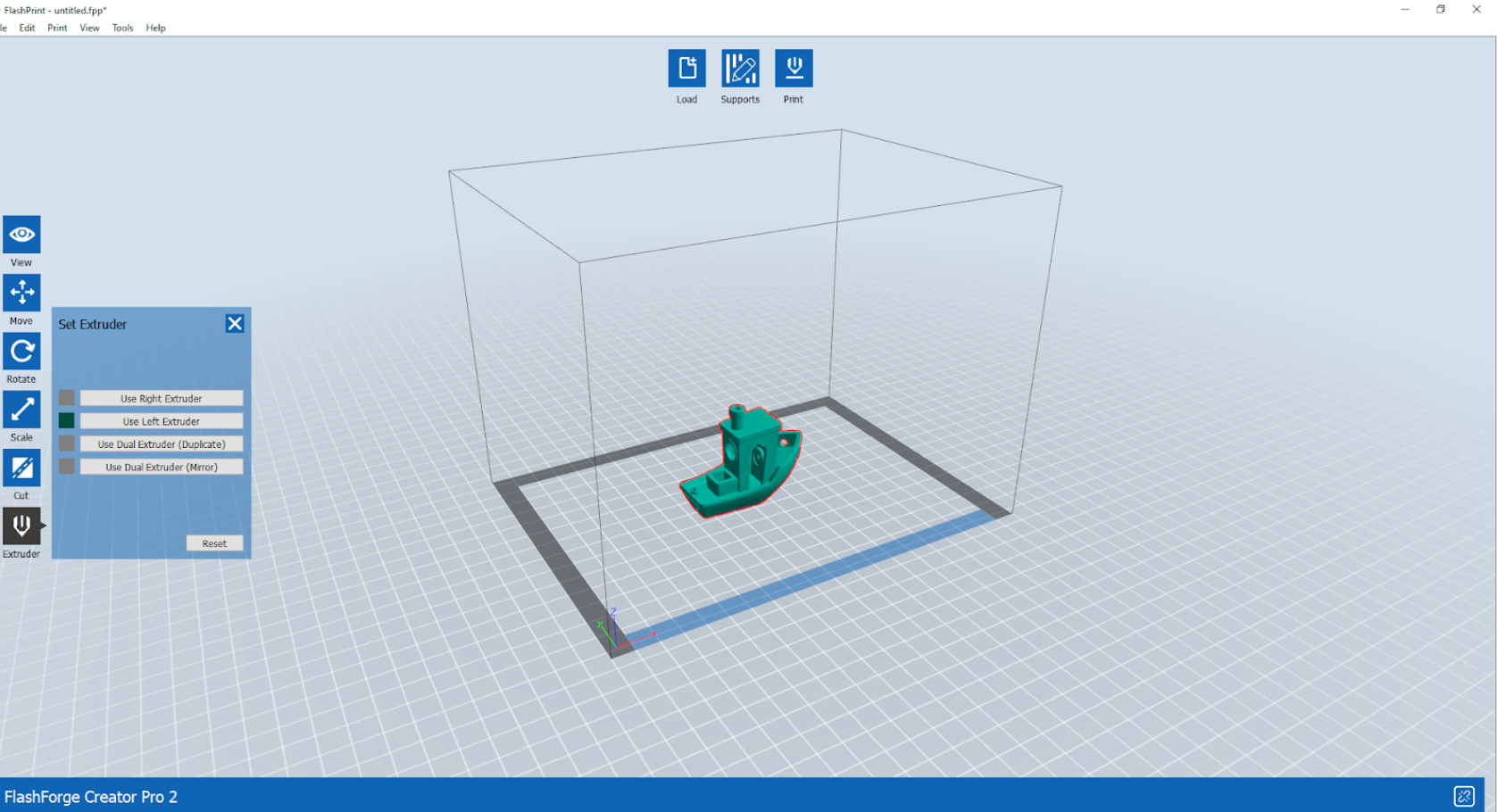 The FlashPrint slicer UI. Image by 3D Printing Industry.